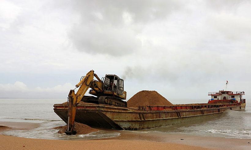 Natuurbeschermingsorganisaties en toerismesector tegen afgravingen te Braamspunt