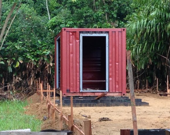 Picture Report 2 - Sloth Wellness Center Construction 8