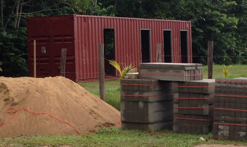 Picture Report 2 – Sloth Wellness Center Construction