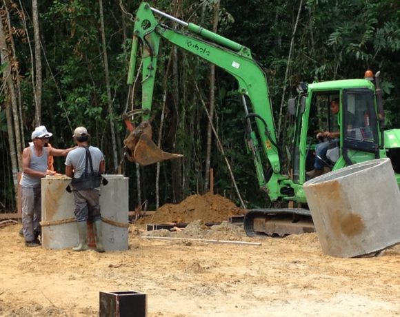 Picture Report 2 - Sloth Wellness Center Construction 1