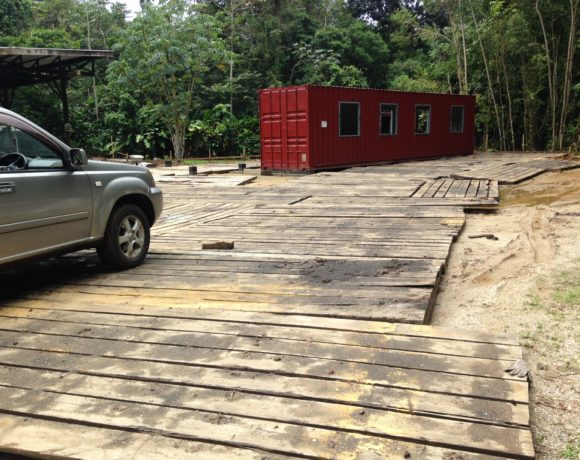 Picture Report 3 – Sloth Wellness Center Construction