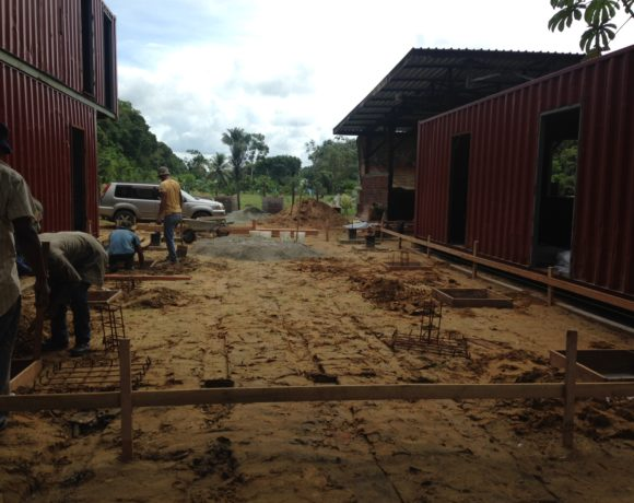 Picture Report 4 - Sloth Wellness Center Construction 16