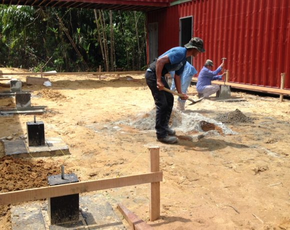 Picture Report 5 - Sloth Wellness Center Construction 1