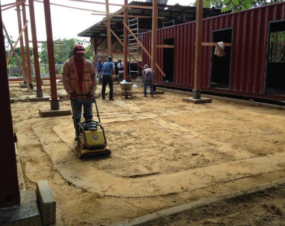 Picture Report 5 - Sloth Wellness Center Construction 4