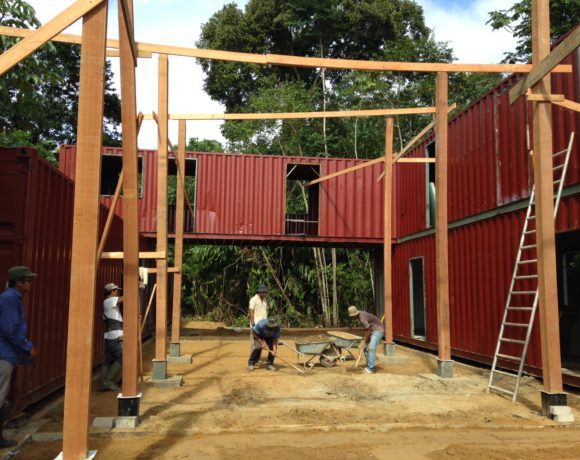 Picture Report 5 - Sloth Wellness Center Construction 6