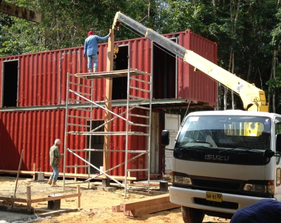 Picture Report 5 - Sloth Wellness Center Construction 2