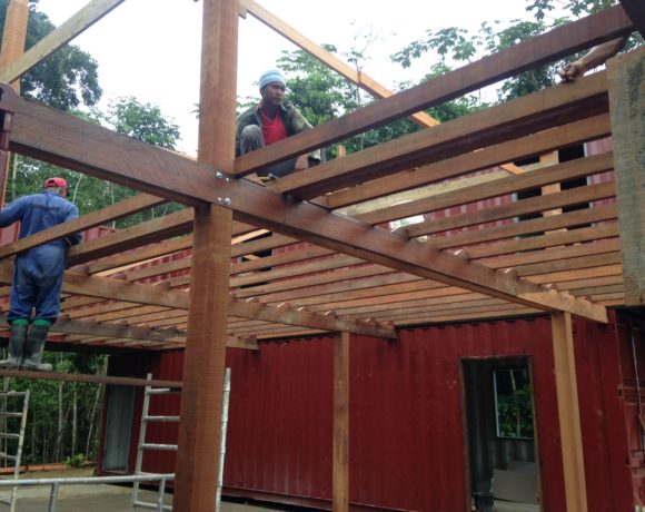 Picture Report 5 - Sloth Wellness Center Construction 10
