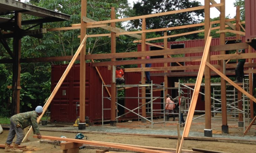 Picture Report 5 – Sloth Wellness Center Construction