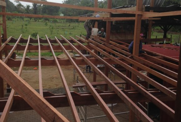Picture Report 5 - Sloth Wellness Center Construction 12