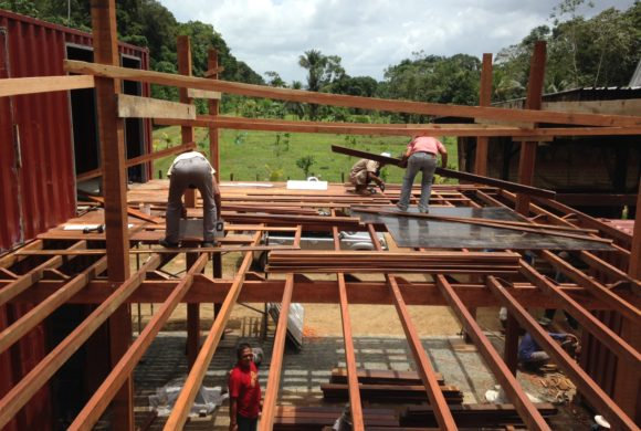 Picture Report 5 - Sloth Wellness Center Construction 14