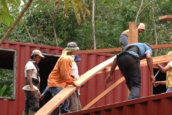 Picture Report 6 - Sloth Wellness Center Construction 2