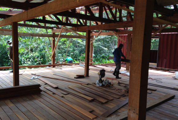 Picture Report 6 - Sloth Wellness Center Construction 13