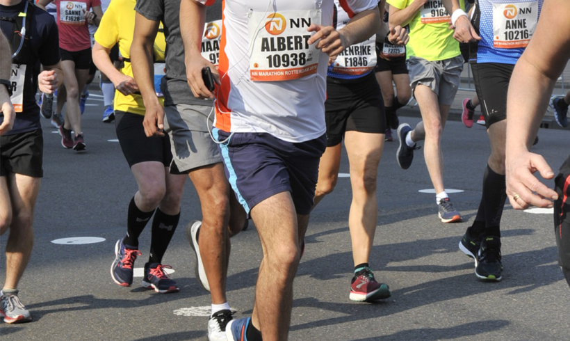 Rotterdammer loopt marathon voor GHFS
