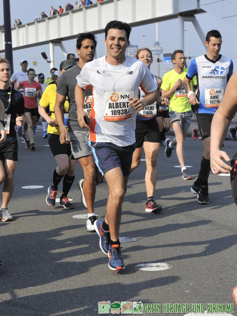 Rotterdammer loopt marathon voor GHFS 1