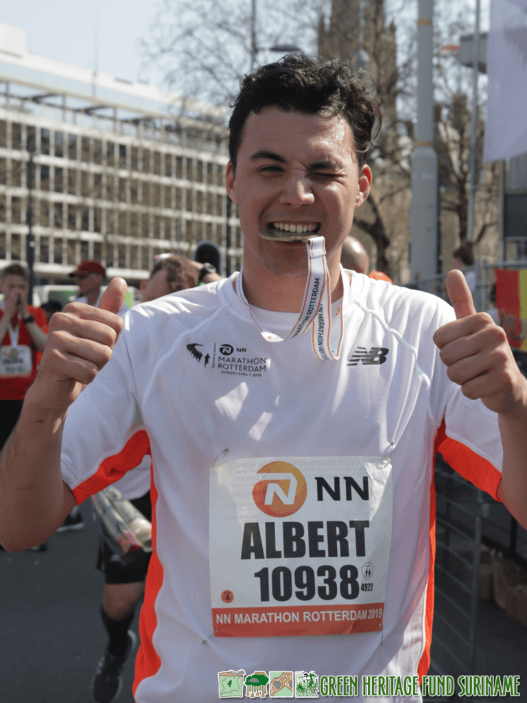 Rotterdammer loopt marathon voor GHFS 2